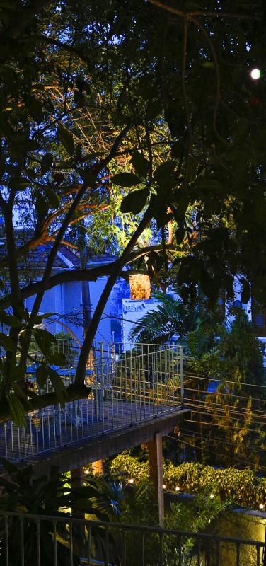 Casa Amarelo - La terrasse de nuit