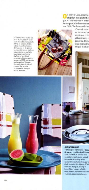 Casa Amarelo - Robert Le Héros - Press - Maison Française - 3