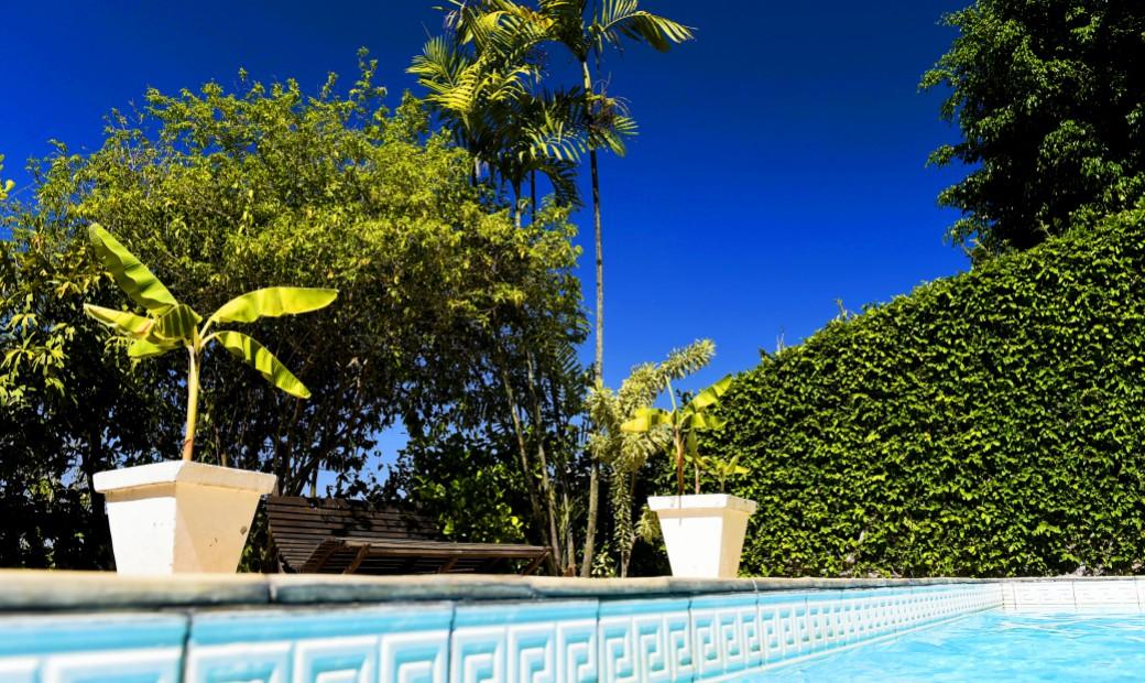 Casa Amarelo - A piscina