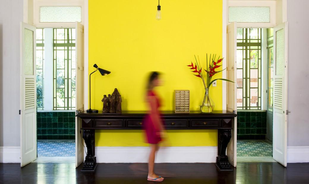 Casa Amarelo - Salão