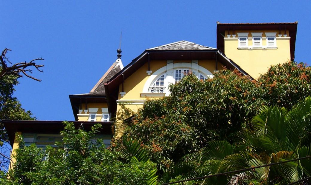 Casa Amarelo - a façada