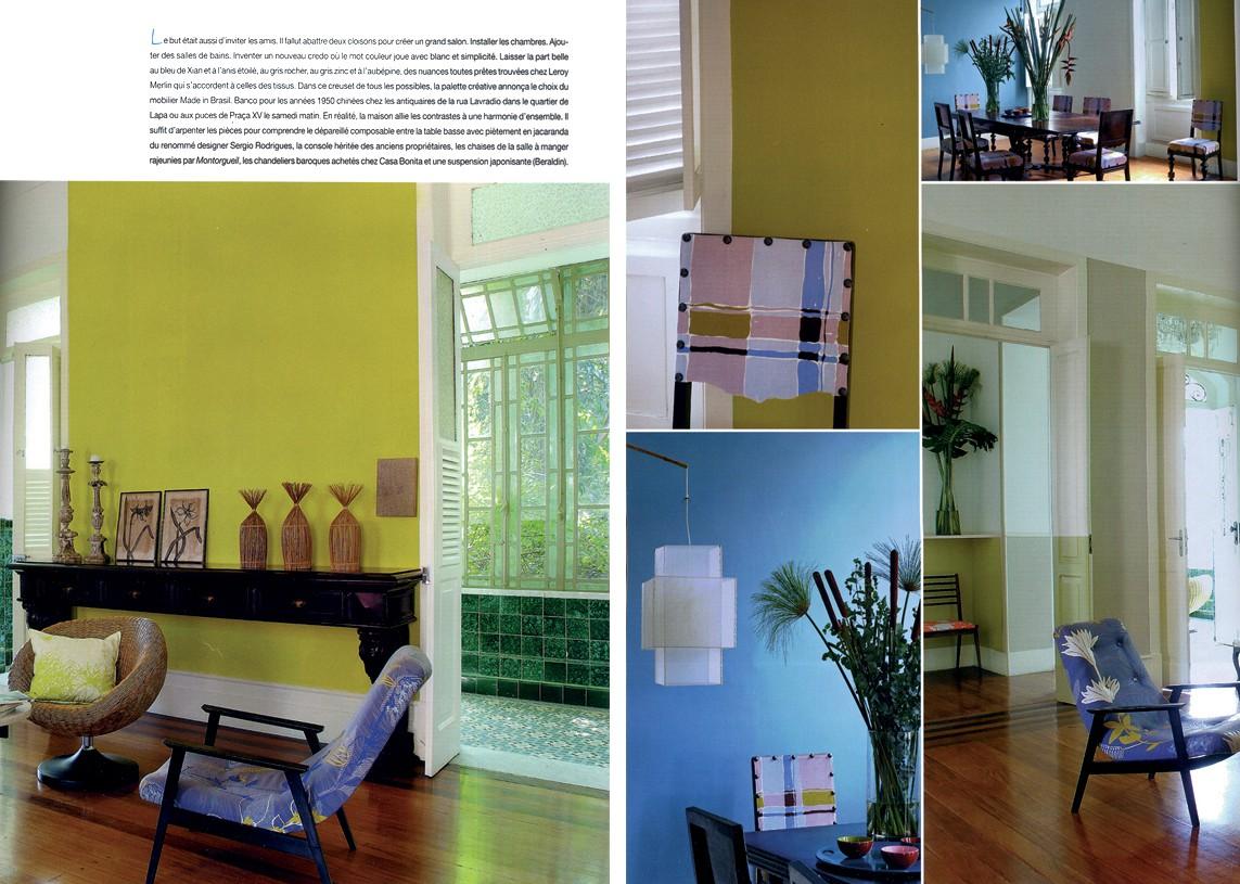 Casa Amarelo - Robert Le Héros - Imprensa - Coté Sud - 3